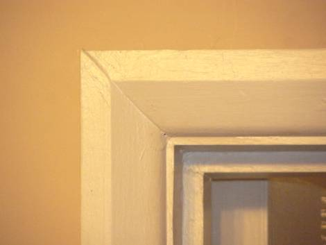 fig 1 & How to Fit Architrave Around a Door Casing | Dave\u0027s DIY Tips